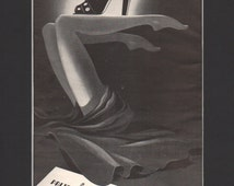 Vogue magazine ad, Palter DeLiso shoes, matted or unmatted - PD000822