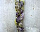 Fortune Teller - Hand Dyed Sock/Fingering Weight Yarn  - 100% sw merino 400 yards/100 grams