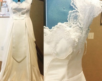 Custom Legend of Zelda Princess Zelda inspired wedding dress