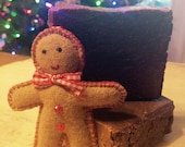 Gingerbread Beer Soap, Christmas Soap, Holiday Soap with Homebrewed Beer