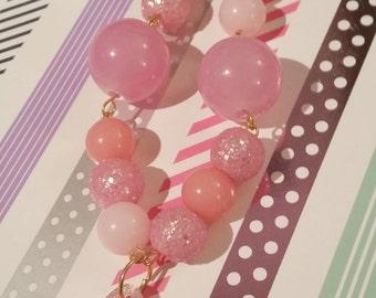 Kawaii Pink Fairy Kei Sweet Lolita Star Necklace