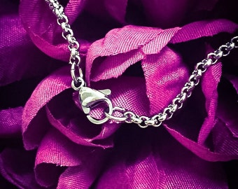 Stainless Steel Rolo Chain Upgrade. Stainless Steel Chain, Rolo Chain, Chain Upgrade, Stainless Steel Necklace, Stainless Steel Jewellery