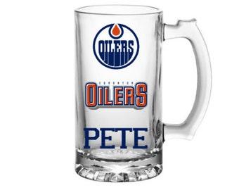 Monogrammed Edmonton Oilers mug-Oilers Gifts