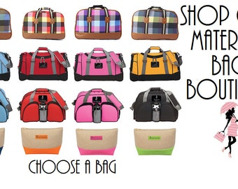SALE! Hospital Maternity Bag - Pre-Packed for Labor & Delivery - Basic Pack Option!