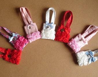 Totebags cotton bag for Pullip dolls, Barbie, Momoko or similar formats