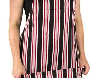 Men's Striped Apron (FULL)