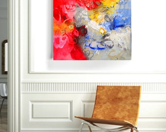 Abstract Art Original Painting Wall art Canvas Wall hanging Contemporary Home Decor Canvas Art Acrylic Painting Canvas Art Acrylic Painting