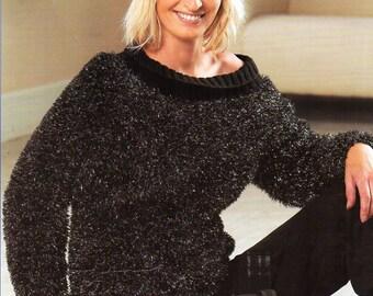 Eyelash sweater Etsy