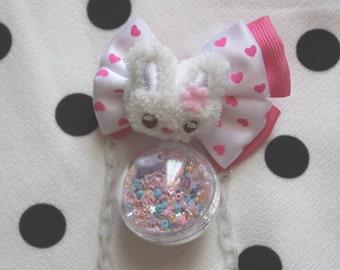 Pin ball fairy bunny