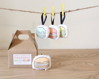 Macaron Ornament 4 Pack