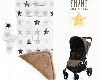 Bright Stars stroller liner, strollerpad