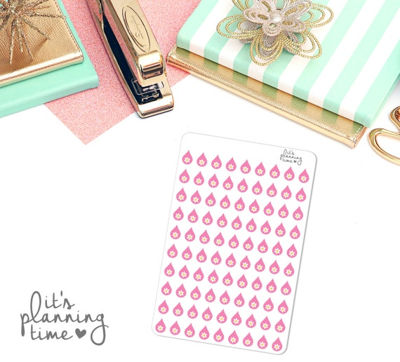 Period Tracker Planner Stickers- 90 count