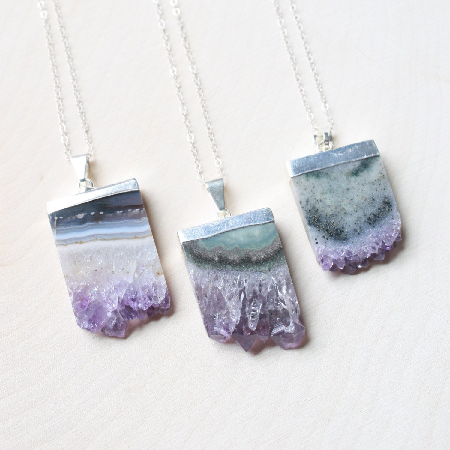 amethyst stone necklace - photo #36