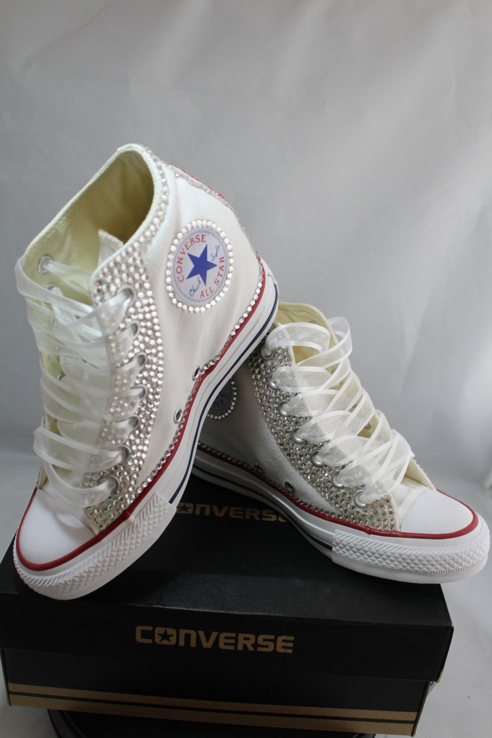 Wedding Converse, Wedding Shoes, Bridal Sneakers, Bling Shoes, Heeled Shoes, Custom Converse, Women's Shoes,Platform Shoes, Wedge Shoes DesignsAfraca out of 5 stars.