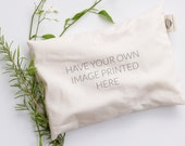 PERSONALIZED Heat Pad, custom heat and cold packs, microwavable, washable relaxation pillow