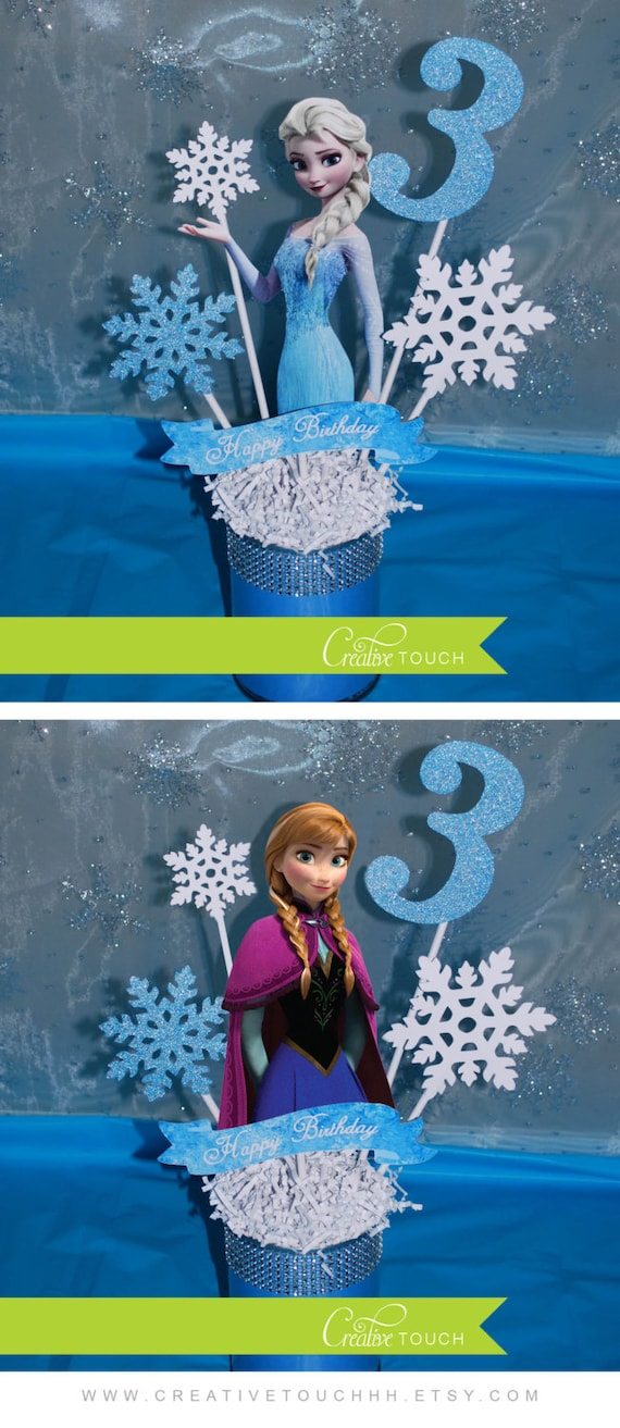 Frozen Centerpiece, Elsa Centerpiece, Frozen Decorations ...