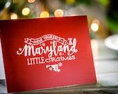 Maryland Little Christmas...
