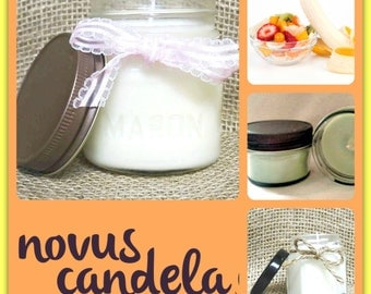 Mason Jar Candle - Soy Candle - Soy Scented Candle - Soy Jar Candle - Monkey Fart Candle - Housewarming Gift - Hostess Gift - 4 or  8 oz