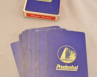 Rare 1975 Prudential Life Insurance Promotional Company Playing Cards - TV Stars