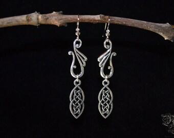 "Earrings ""Elven Nordic"""