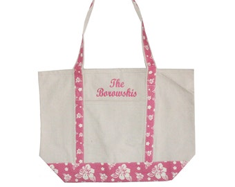 Canvas Tote bag, Monogrammed tote bag, Personalized canvas tote bag, Personalized Graduation Gift, Bridesmaid tote bag, Custom Beach Bag