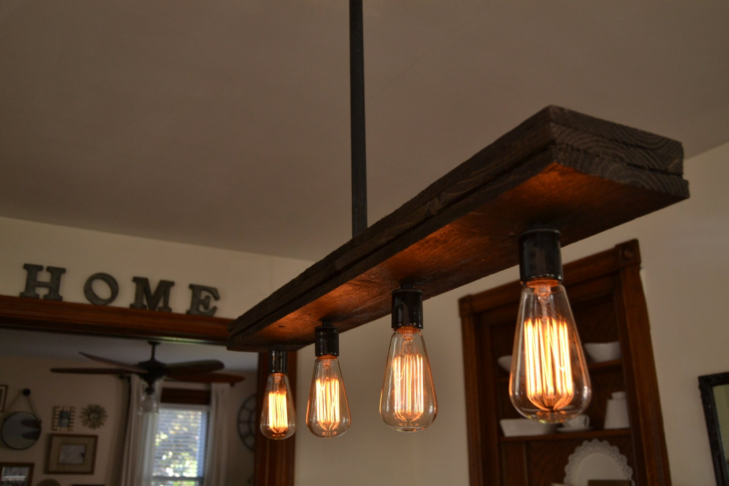 reclaimed wood chandelier light fixture by unionhilltradeco. Black Bedroom Furniture Sets. Home Design Ideas