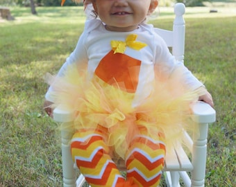 baby candy corn costume baby girl halloween costume toddler halloween costume baby first - Halloween Costume For Baby Girls
