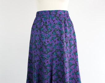 Vintage Skirt // Flower