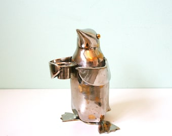 Mid-century Penguin candle holder