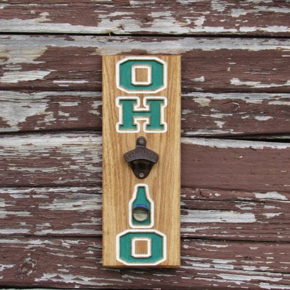 bottle opener magnet cap catcher wall mount ohio. Black Bedroom Furniture Sets. Home Design Ideas