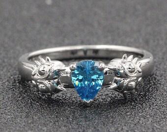 Moons Tear Engagement Promise Wedding Ring Bit Gamer Video Game Geek