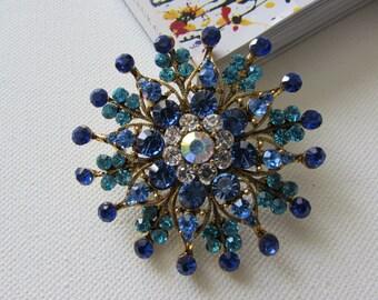 Flower Brooch, Unique Brooch, Flower Pin