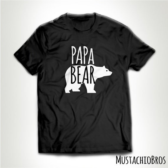 funny papa bear t shirt t shirt tee shirt my favorite people. Black Bedroom Furniture Sets. Home Design Ideas
