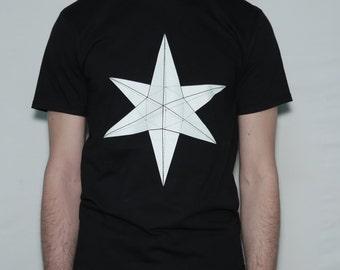 Geometric Mystic Star T-shirt  • Handmade Tshirt
