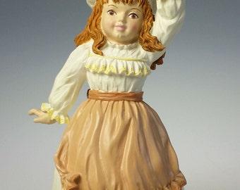 Maud Humphrey Bogart Autumns Child 910260 Figurine MIB Girl With Leaves 1991