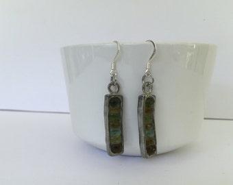 Handmade Gemstone Earrings - Gemstone Earrings - Silver Earrings