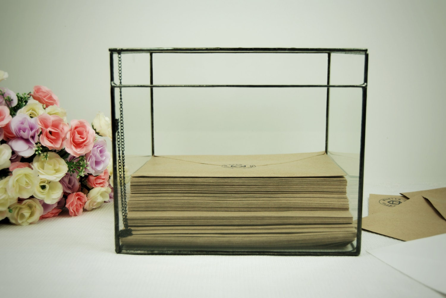 Wedding Keepsake Box Wedding Card Box Wedding Card Holder – Large Wedding Card Box