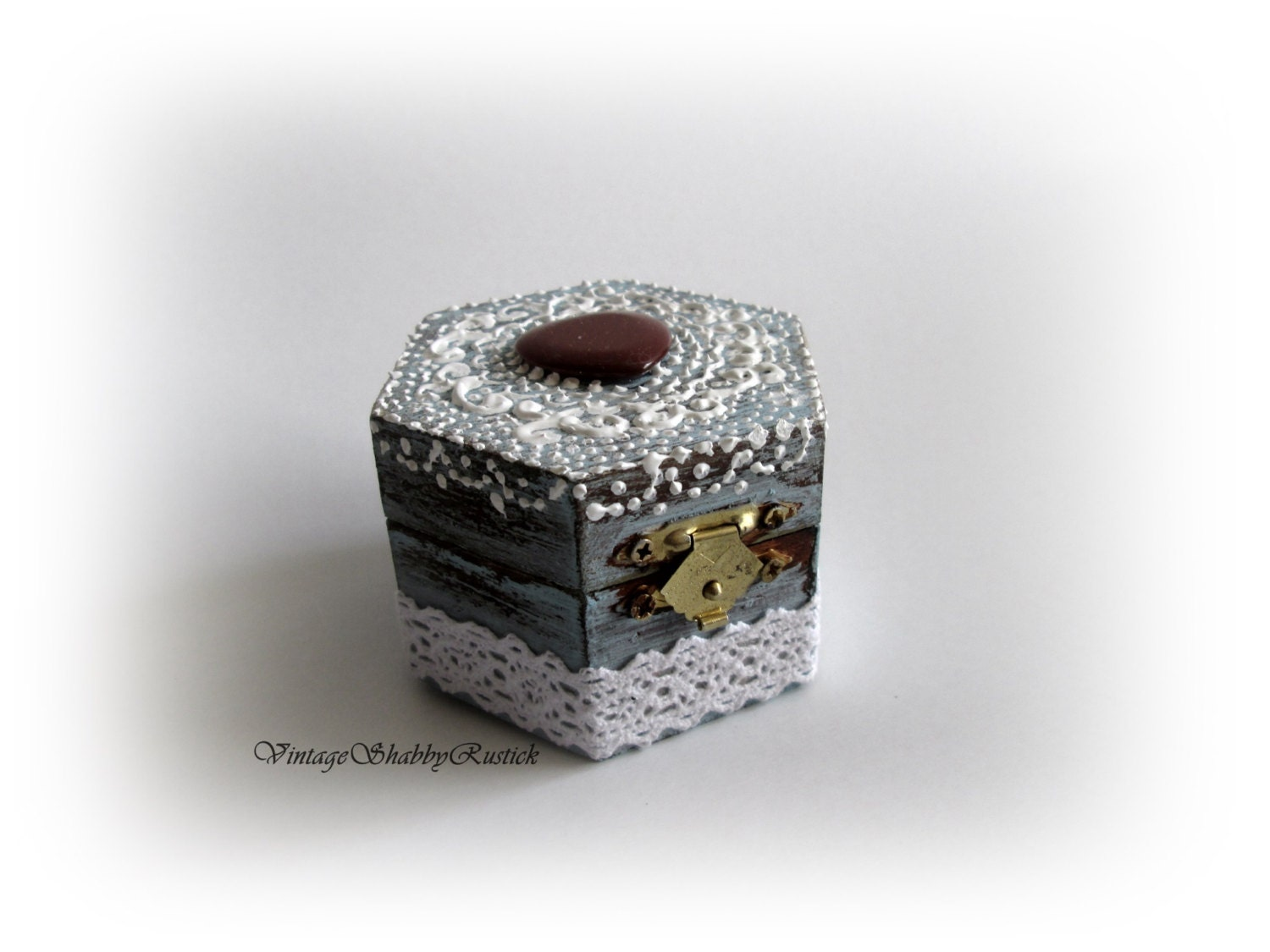 Rustic ring box wedding ring box ring holder personalized ring for Wedding ring holder box