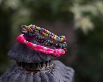 Paracord Bracelets | Colour Pop | Three Pack
