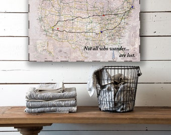 Road Map Etsy - Create Your Own Us Map