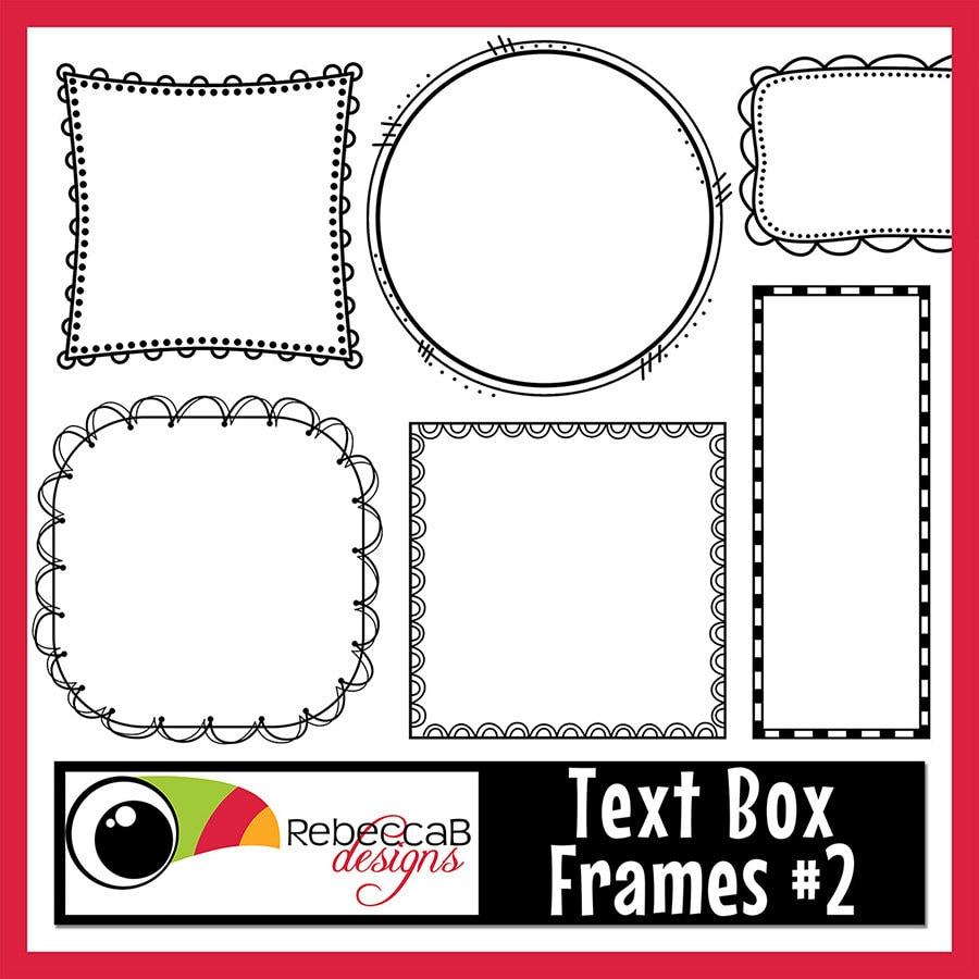 Clipart Doodle Frames Text Box Frames Frames Clipart Doodle