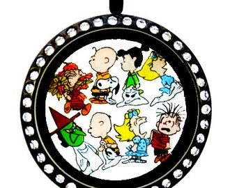 Peanuts Charlie Brown Great Pumpkin Floating Charms