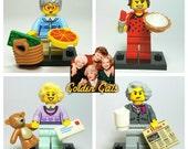 Golden Girls - Custom Lego Minifigure Set
