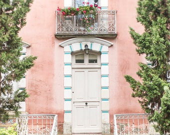 France Photography, House in the Loire Valley, French Country Home Decor, Europe Fine Art Travel Photograph, Large Wall Art