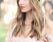 laurel wreath, bridal headpiece, wedding hair accessories, flower crown, floral wreath, natural head piece,