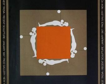 Ernest Trova 1967 Art Print / Mid Century Art
