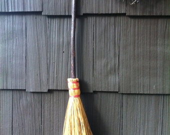 Vintage handmade broom or besom