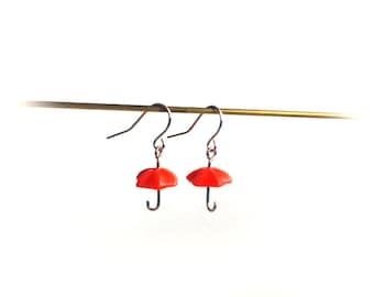 Polymer Clay Umbrella earrings