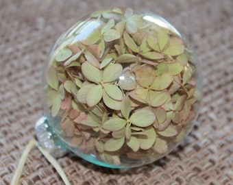 Dried Hydrangea Ornament