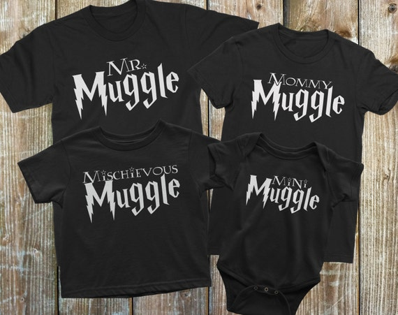 Matching Family Shirts Harry Potter Family Shirt set Family